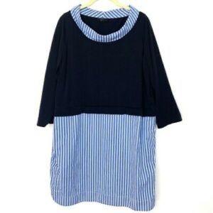 Sweater dress shirt